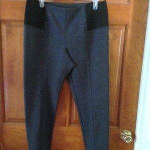 New York Comp Gray stretch leggings